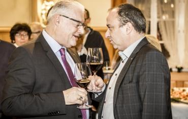 Roland Kuster und Markus Dieth