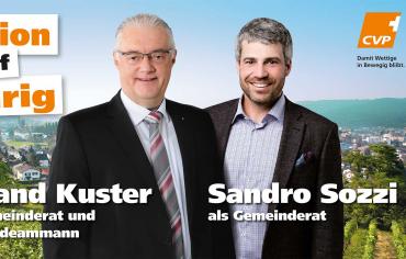 Roland Kuster und Sandro Sozzi