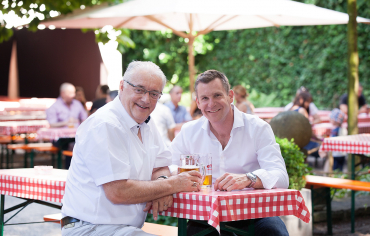 Roland Kuster und Reto Schmid